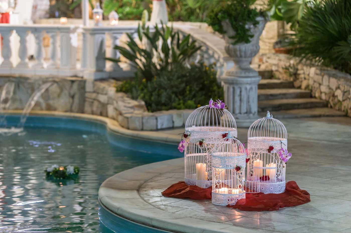 Location matrimonio in piscina una fresca opportunit for Addobbi piscina per matrimonio