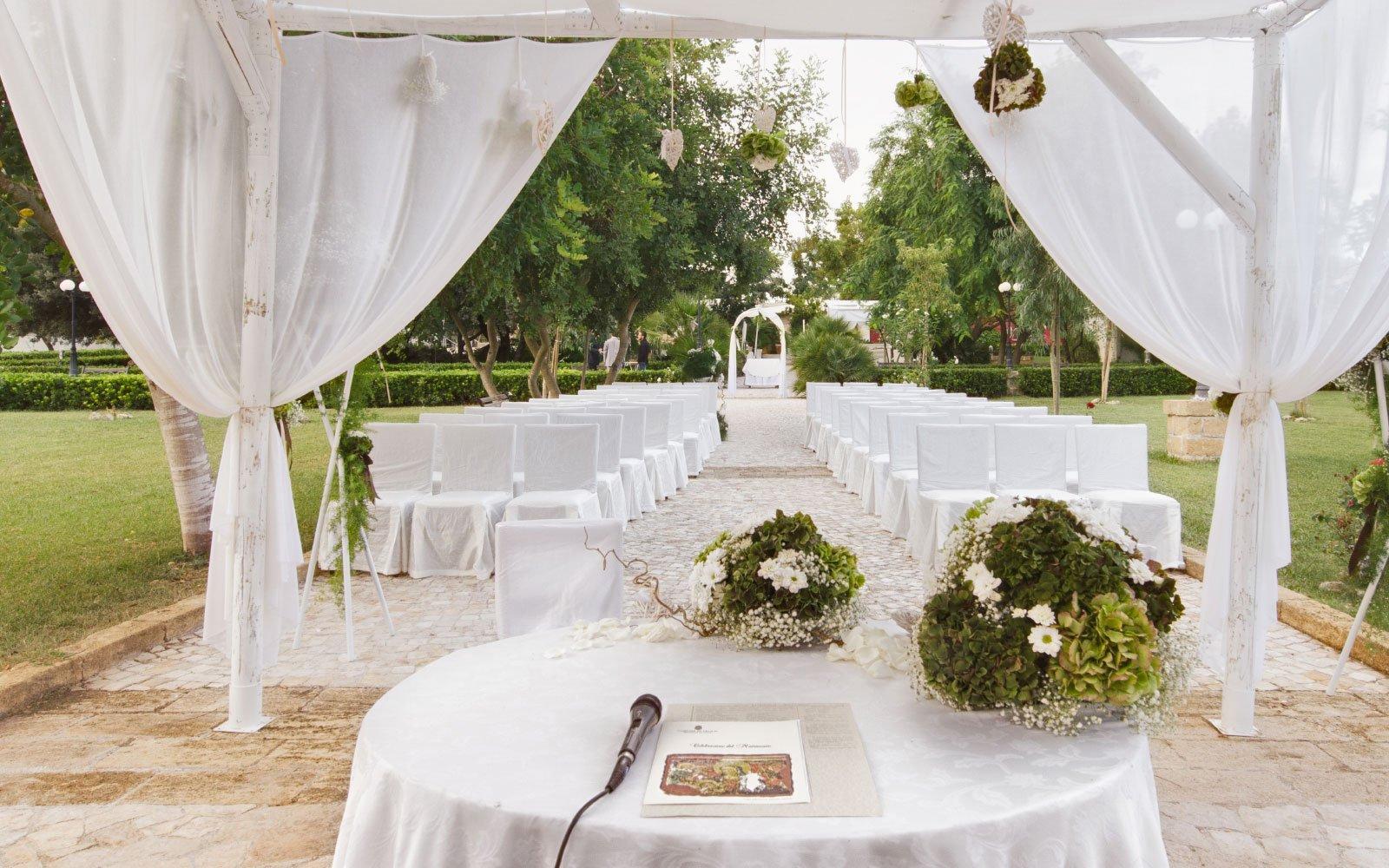 Auguri Matrimonio Rito Civile : Matrimonio con rito civile nel suggestivo parco di tenuta